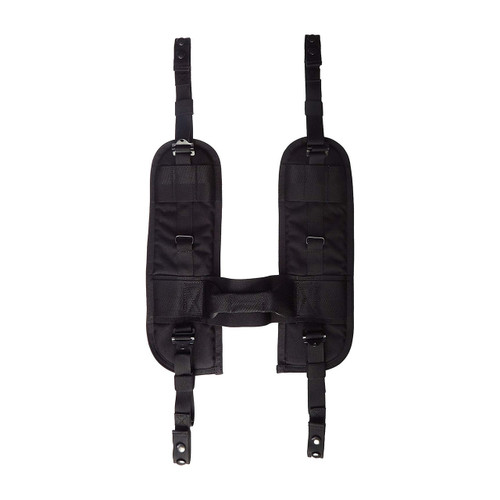 35SS00BK Special Operations H-Gear Shoulder Harness - BLACK