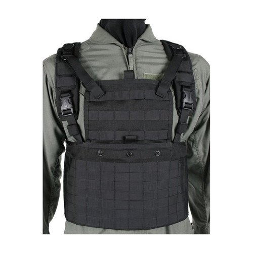 37CL01 S.T.R.I.K.E.® Commando Recon Chest Harness BLACK