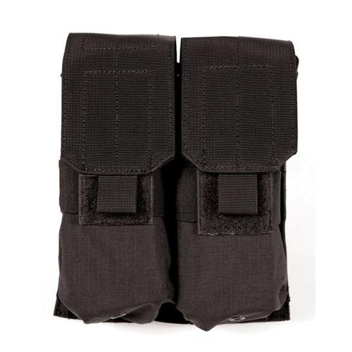 37CL03BK S.T.R.I.K.E.® M4/M16 Double Mag Pouch (Holds 4) - MOLLE - BLACK