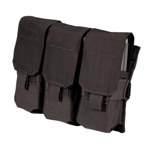 37CL04BK S.T.R.I.K.E.® M4/M16 Triple Mag Pouch (holds 6) - MOLLE - BLACK