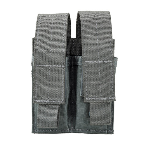 37CL09UG S.T.R.I.K.E.® Double Pistol Mag Pouch - MOLLE - URBAN GRAY