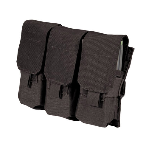 37CL106BK S.T.R.I.K.E.® Triple MP-5 Mag Pouch - MOLLE - BLACK