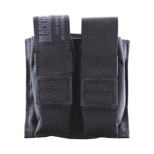 37CL10BK S.T.R.I.K.E.® Double Pistol Mag Pouch Talonflex - MOLLE - BLACK