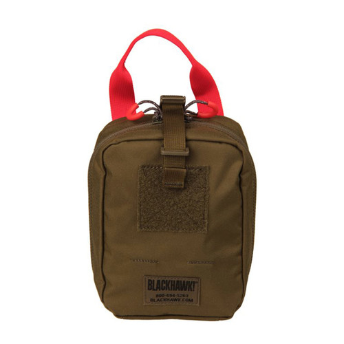 37CL116OD S.T.R.I.K.E.® Quick Release Medical Pouch - MOLLE - OLIVE DRAB BACK ANGLE