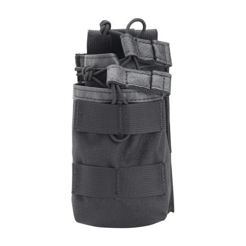37CL118BK S.T.R.I.K.E.® Tier Stacked M16/M4/PMAG Mag Pouch - MOLLE - BLACK
