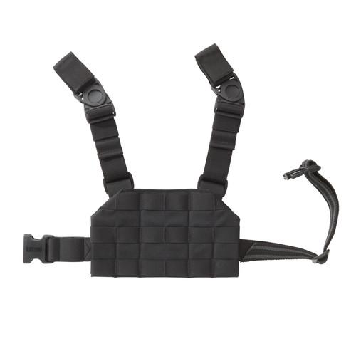 37CL125BK S.T.R.I.K.E.® Compact Drop-Leg Platform - FRONT BLACK