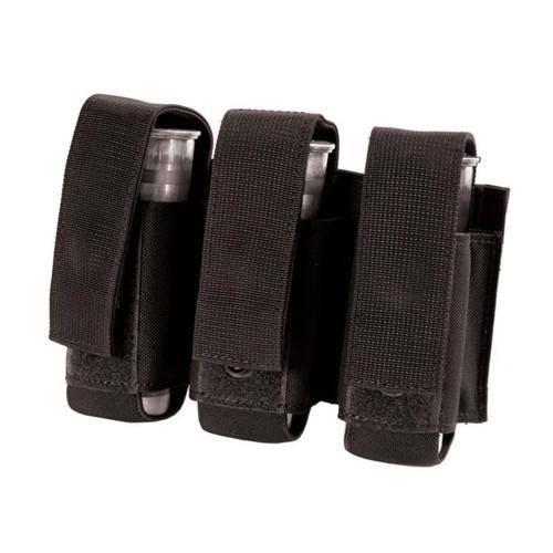 37CL23BK S.T.R.I.K.E.® Triple 40mm Grenade Pouch - MOLLE - BLACK