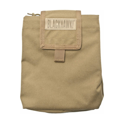 37CL77CT FOLDING DUMP POUCH - COYOTE TAN