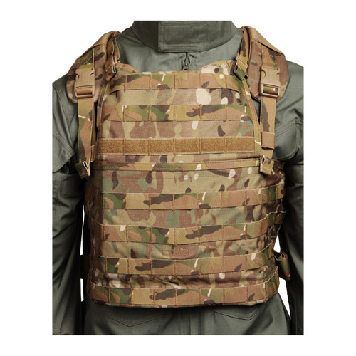 37CL82MC S.T.R.I.K.E.® Lightweight Commando Recon Chest Harness - MULTICAM FRONT