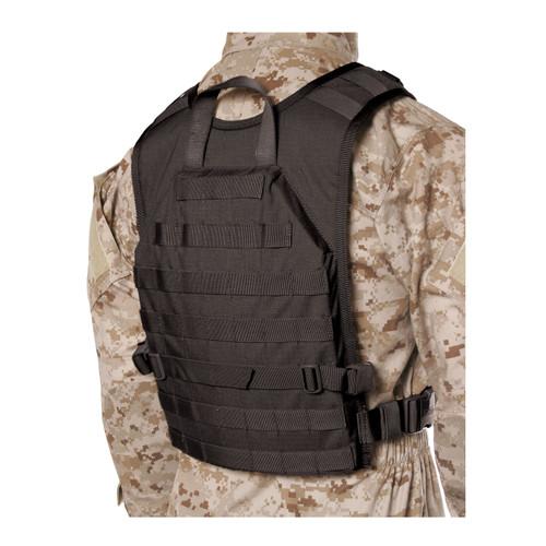 37CL85BK S.T.R.I.K.E.® Lightweight Commando Recon Back Panel - Small/Medium - BLACK