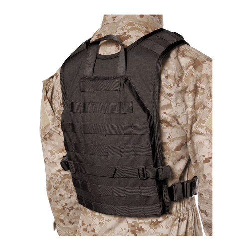 37CL85BK S.T.R.I.K.E.® Lightweight Commando Recon Back Panel - Small/Medium - BLACK