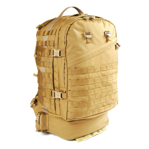 603D09CT - Velocity X3 Jump Pack - Coyote Tan - Front
