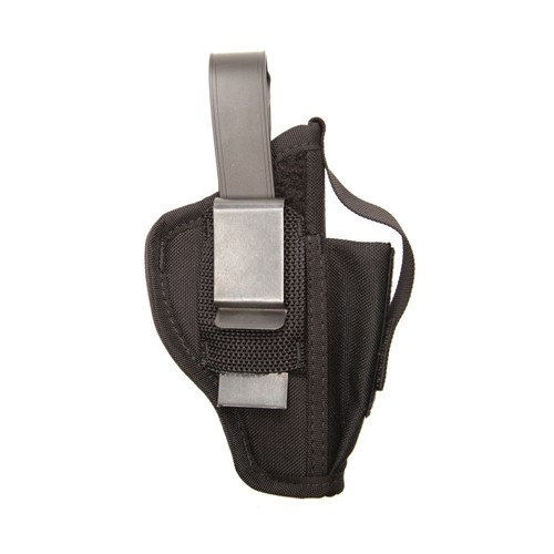 Nylon Ambidextrous Multi-Use Holster Back of Holster with Clip