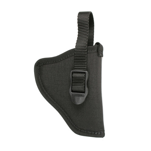 73NH - NYLON HIP HOLSTER - BLACK - FRONT