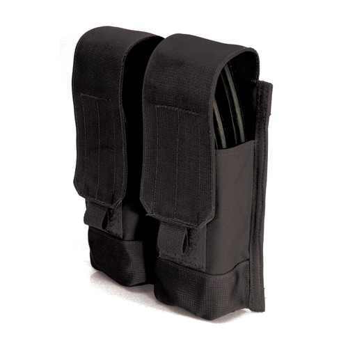 37CL88BK - AK-47 Double Mag Pouch (Holds 4) - MOLLE - BLACK
