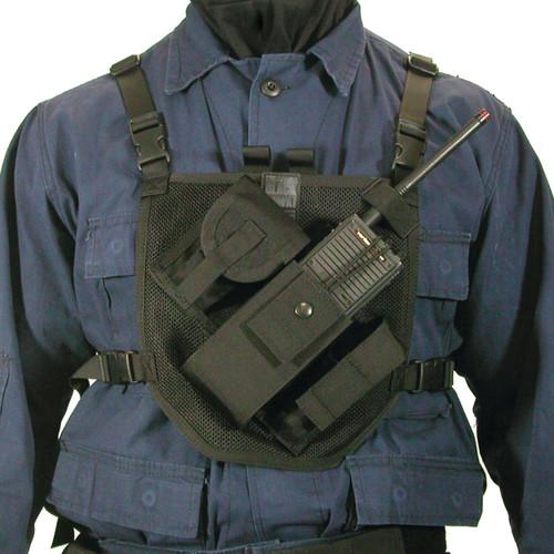 37PRH1BK - patrol radio harness