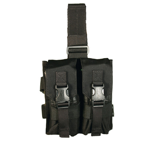 561602BK - Omega Elite® Enhanced M16 Drop-Leg Mag Pouch - black