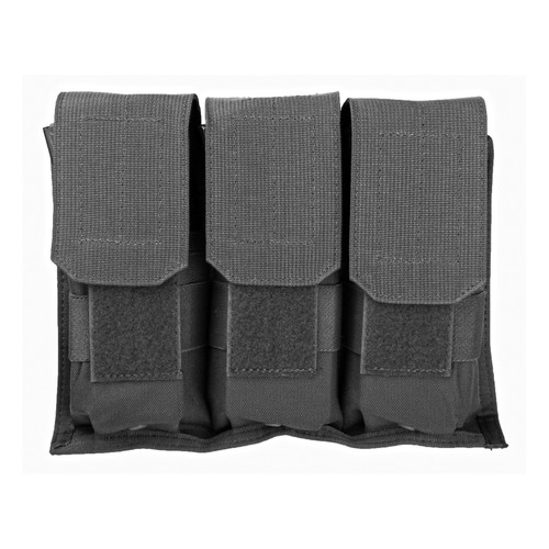 65MV01BK - Hook Backed Triple M16 Mag Pouch - black