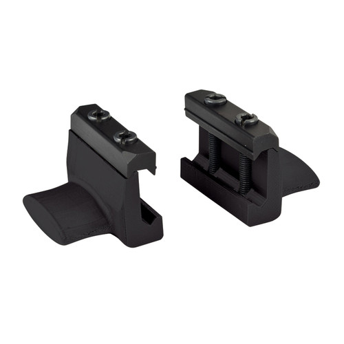 71RM00BK - rail mount thumb rest - black