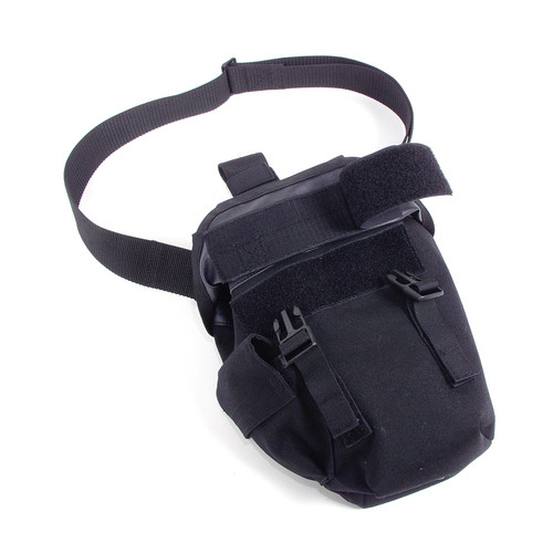 56GM00BK - omega elite gas mask pouch - black