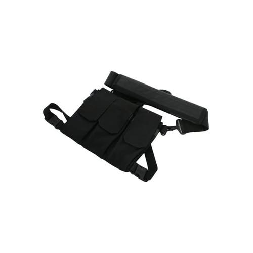 55SOS1BK - rifle bandoleer - black