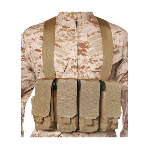 55CP04CT - chest magazine pouch - coyote tan
