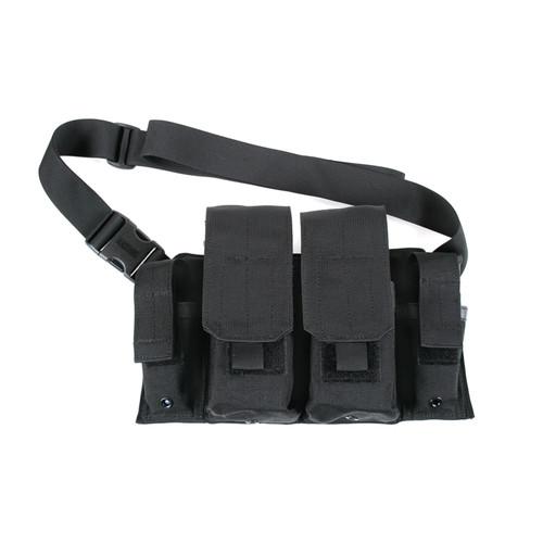 55RB01BK - Rifle/Pistol Bandoleer - black