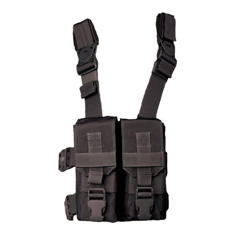 "561604BK - M16 ""Y"" Thigh Rig - BLACK"