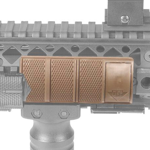 71RP01DK - Locking Rail Panel - Medium - tan