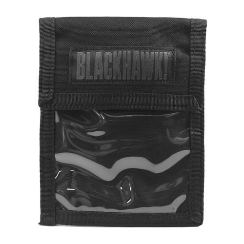 90id01bk - neck id lanyard - black