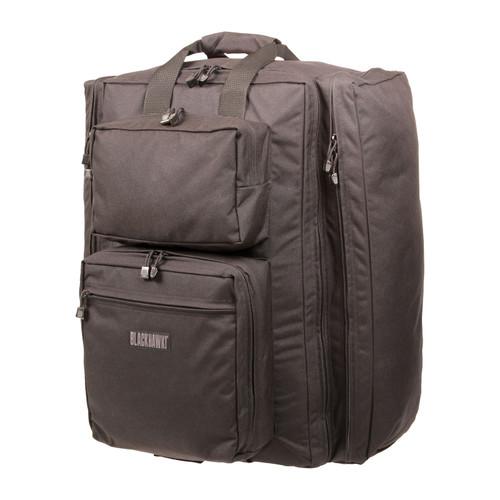21DT00BK - diver's travel bag - black - front