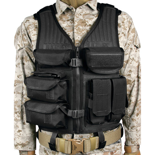 30EV05BK - omega elite tactical vest eod - black