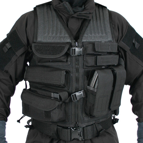 30EV35BK - Omega™ Phalanx Homeland Security Vest - black