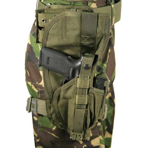 40XP00OD - nylon special operations holster - olive drab