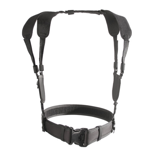 44H001BK - ERGONOMIC DUTY BELT HARNESS - BLACK