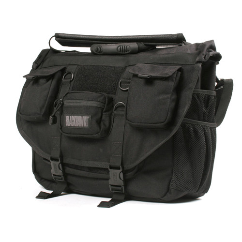 61BC01BK - Advanced Tactical Briefcase - front black