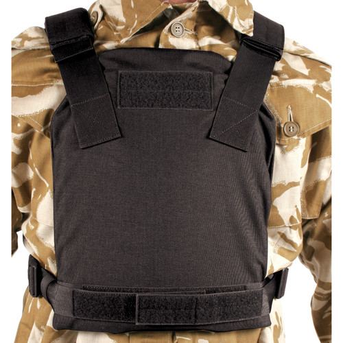 32PC - LOW VIS PLATE CARRIER - BLACK
