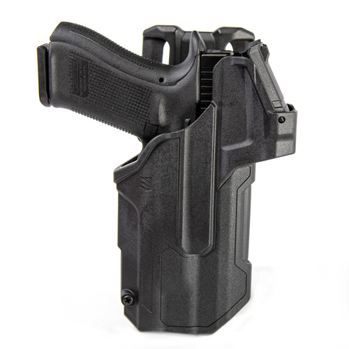 44NB - T-Series L2D Light-Bearing Red Dot Sight (RDS) Duty Holster - Glock
