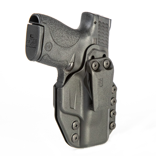 4160 - Stache™ IWB Holster - Base Model - Front Angle w/Holstered Firearm