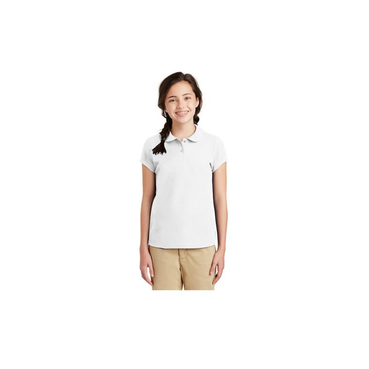 Little Girls Peter Pan Polo Shirt(EVA)
