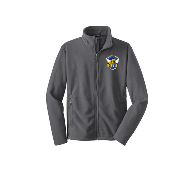 Full Zip-Up Jacket- Adult (Helping 4 Angels Academy)