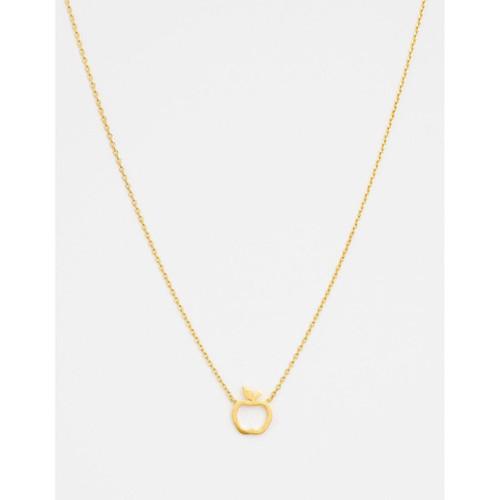 Stella & Gemma - Gold Apple Necklace