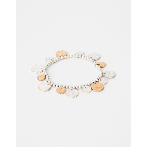 Stella & Gemma - Silver / Gold Dime a Dozen Bracelet