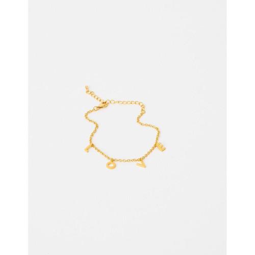Stella & Gemma - Gold LOVE Bracelet