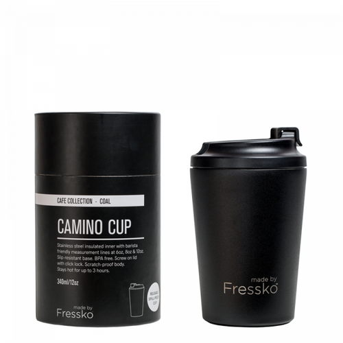 made by Fressko - CAMINO Coffee Cup (Coal)