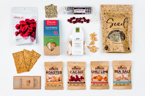 Snack Gift Basket NZ | Willow and Wolfe | Snack Box Gift Hamper