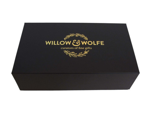 Black Linen Box Including Delivery