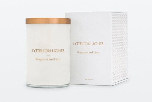 Lyttelton Lights Luxury Soy Candle -  Extra Large