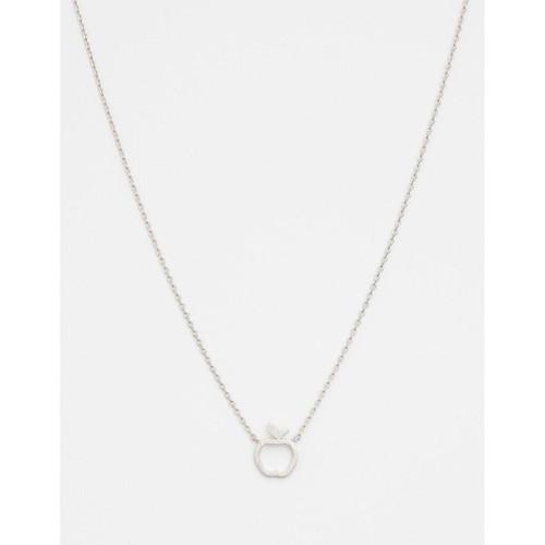 Stella & Gemma - Silver Apple Necklace