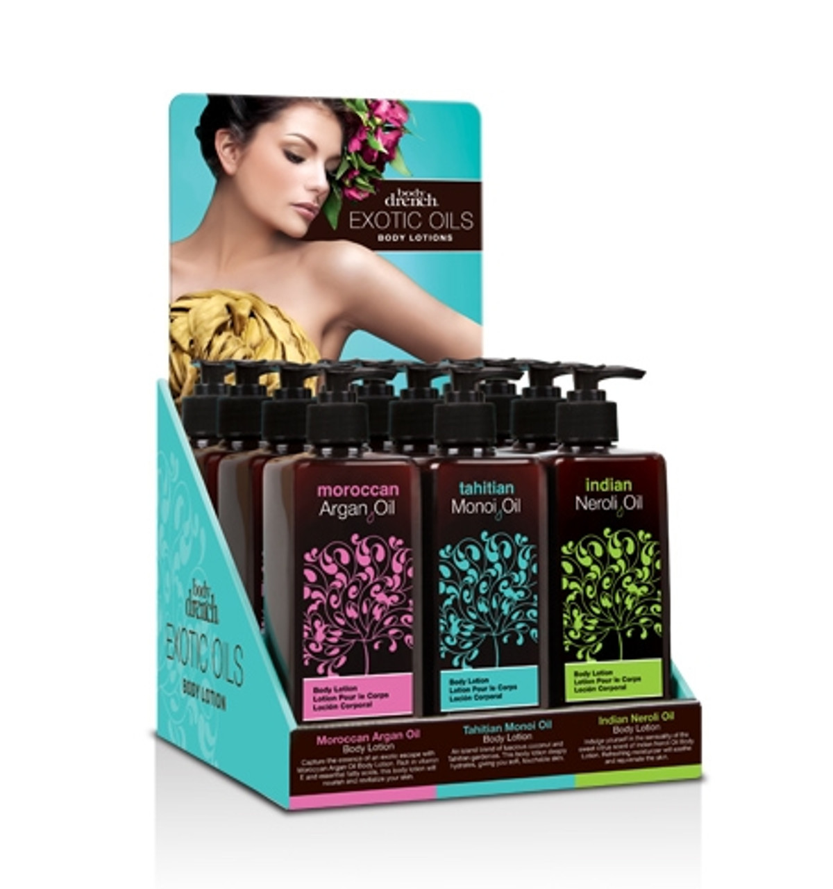 Body Drench Exotic Oil Lotions
